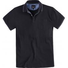 North 56°4 Cotton Polo Top Black 2XL To 8XL