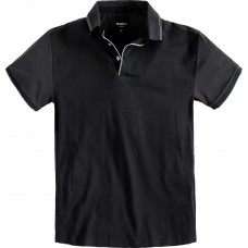 North 56°4 Cotton Contrasting Polo Top Black 2XL To 8XL