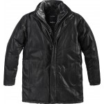 North 56°4 Black Leather Jacket 3XL To 5XL