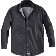 North 56°4 Dotted Charcoal Shirt 3XL To 8XL