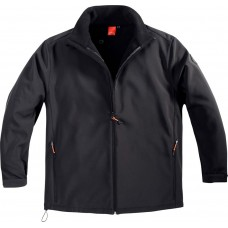 North 56°4 Black SoftShell Jacket 2XL To 6XL