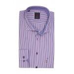 Andre Ryan Lilac Stripe Shirt