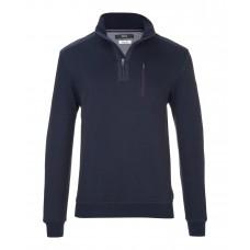Brax Siro Zip Sweatshirt Navy - Up To 6XL