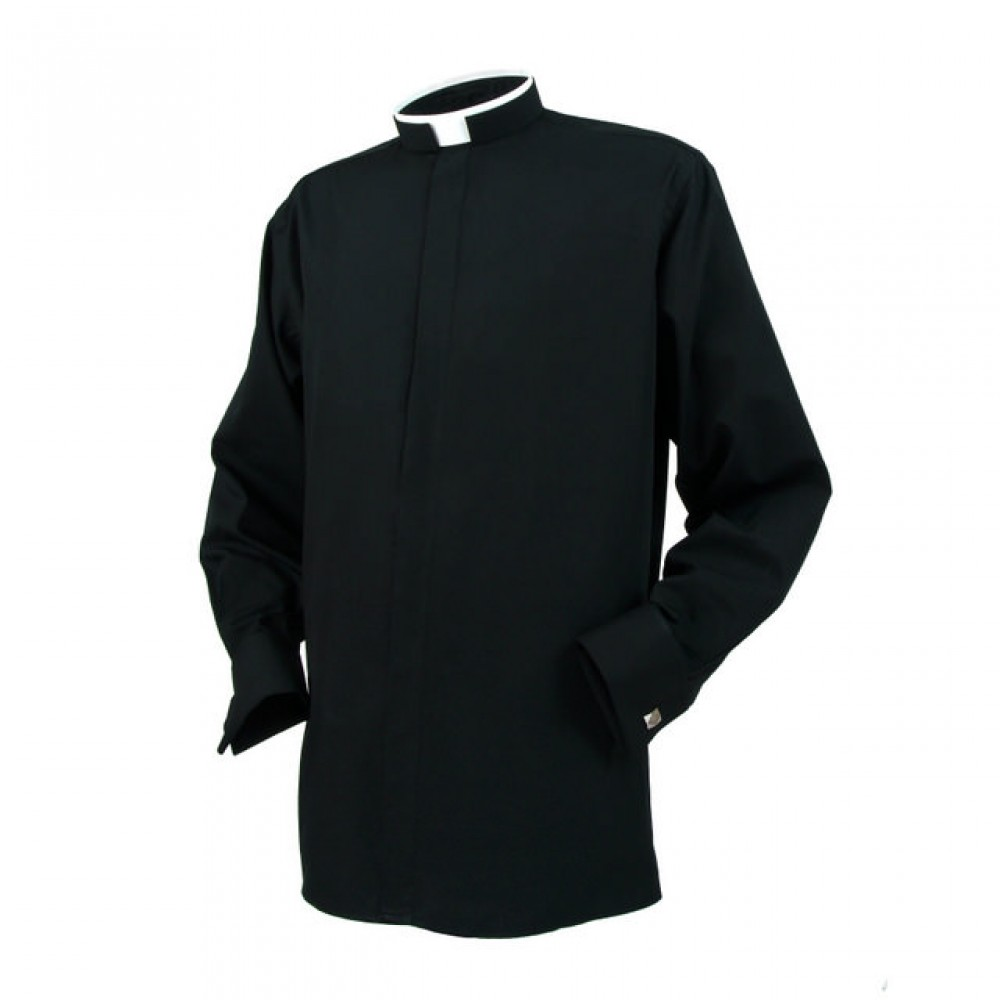 reliant clerical tonsure collar long sleeve double cuff