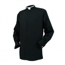 Reliant Clerical Tonsure Collar Long Sleeve Double Cuff Shirt
