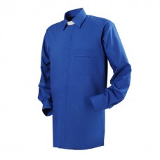 "Reliant Regular Collar Clerical Shirt - 1"" Slip In Collar"