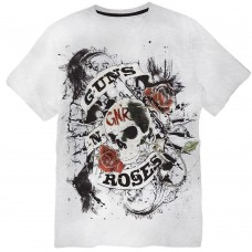 Replika Guns & Roses Tee Shirt - Grey
