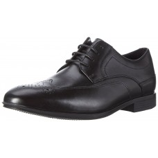 Rockport Style Connected Black Wingtip Derby