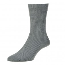 HJ Hall Softop King Size Socks Size 11-13 - Grey