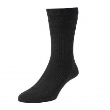 HJ Hall Softop Sock - Black