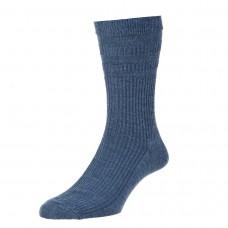 HJ Hall Softop Sock - Blue