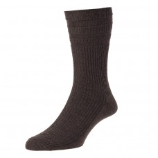 HJ Hall Softop Sock - Brown