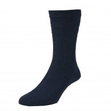 HJ Hall Softop King Size Socks Size 11-13 - Navy