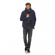 Brax Azur Navy Casual Jacket Up To 58 Inch Chest