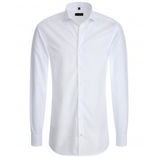 Eterna Slim Fit White Shirt